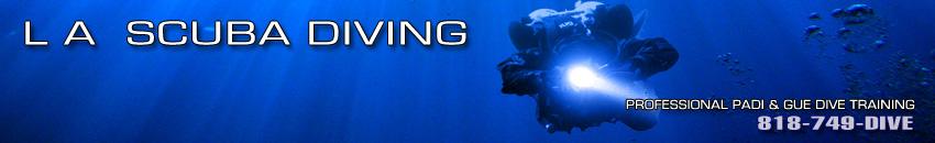 L A Scuba Diving PADI GUE Diver Training Classes in Los Angeles