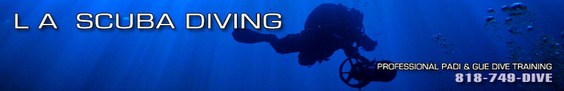L A Scuba Diving PADI GUE Diver Training Classes in Los Angeles
