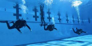 PADI dive class in L.A.